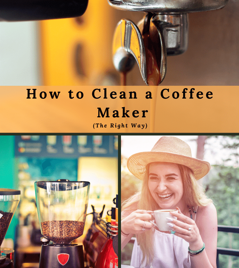 how to clean a coffee maker the right way