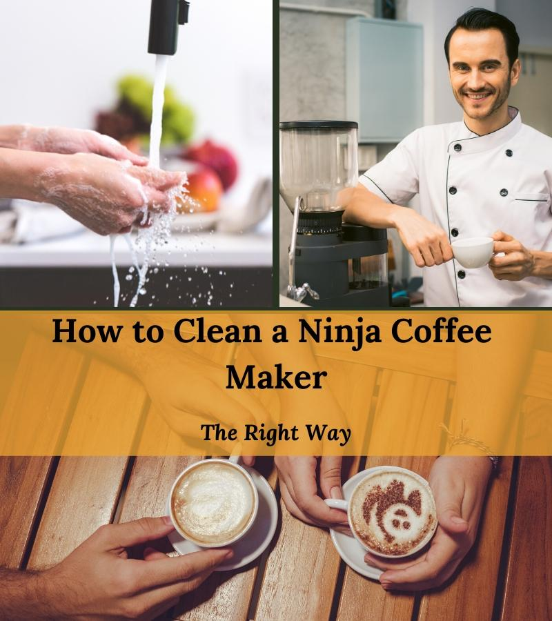 how to clean a ninja coffee maker the right way