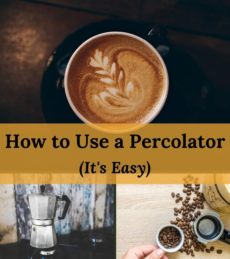 how to use a percolator easily