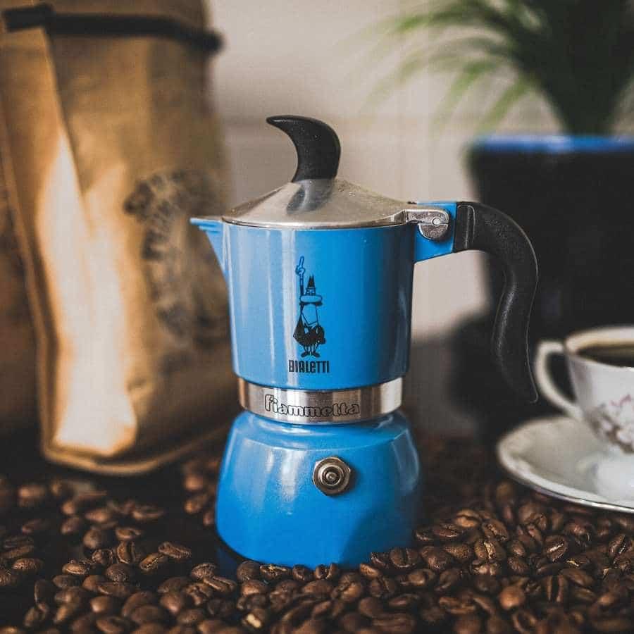 4. Stovetop Espresso Pot _