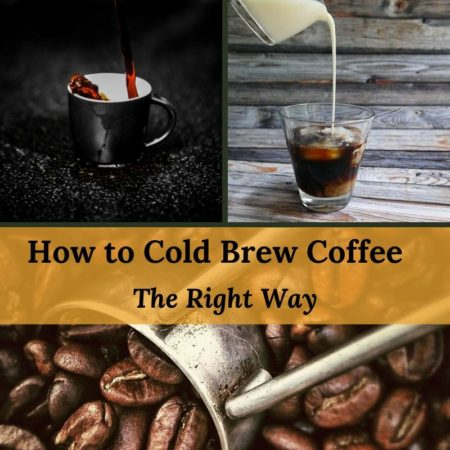 how to cold brew coffee the right way